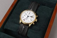 "Herrenarmbanduhr, Chronoswiss, ""Lunar Chronograph"", Automatic, Kaliber Chronoswiss C 755, mit Mondph — Uhren (Armbanduhren)"