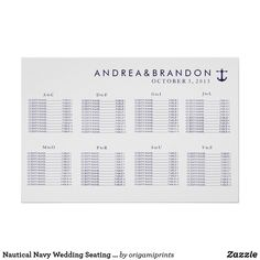 Shop Purple Watercolor Wedding Seating Chart created by origamiprints. Nautical Invitations, Invitation Design, Invites, Seating Chart Wedding, Seating Charts, Nautical Wedding, Nautical Theme, Wedding Decor, Wedding Prints