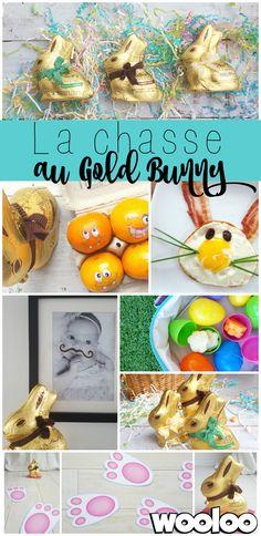 Cette année, on part à la chasse au lapin coquin de Pâques! Vous êtes curieux? Voici quelques tours qu'il jouera aux enfants cette semaine!