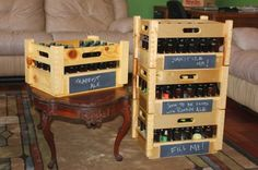 Homebrew Bottle Crate