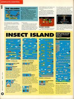 Amiga Power Rainbow Islands guide Page 3