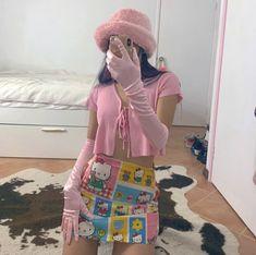 Mode Outfits, Trendy Outfits, Fashion Outfits, Aesthetic Fashion, Aesthetic Clothes, Kawai Japan, Looks Style, My Style, Kawaii Fashion