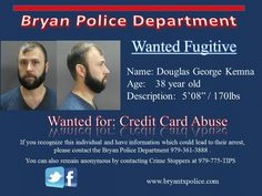 Wanted Douglas Kemna Posted Oct 2014
