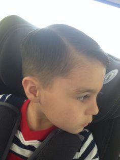 Cute boy hair cut