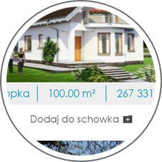 Biuro projektowe Bydgoszcz, tanie, gotowe projekty domów nowoczesnych, małych, jednorodzinnych, drewnianych, energooszczędnych, parterowych, podpiwniczonych, szkieletowych, z poddaszem i piwnicą - biuroprojektow.pl Small Modern House Plans, My House Plans, Design Case, House Projects, New Homes, Houses, House Design, Mansions, House Styles