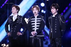 Chen, Xiumin, Baekhyun - 170603 I Love You Korea 2017 Dream Concert  Credit: Light Up Dreamers. (사랑한다 대한민국 2017 드림콘서트)