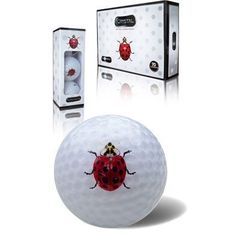 Lady Bug by Crystal Golf. $24.99. Obtain the longest and straightest flight distance without sacrificing true 70 compression or a soft feeling. The soft feel results from a resilient soft surlyn cover, a low compression control core and a high energy oriented core. They each work together to make the Crystal golf ball the most comfortable ball on the market.