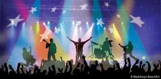 Backdrops: Rock Concert 2B