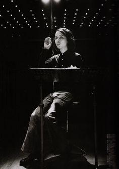 Japanese Composer Toru Takemitsu, 1976. photo by Akira Kinoshita
