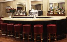 Claridge's Bar Mayfair London   Luxury Restaurant & Bar Interiors