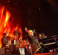 Sir Elton John gave a magical performance to the thousands gathered at Longleat.