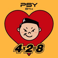 is the eighth studio album by South Korean singer Psy. The album was released digitally on May 2017 by YG Entertainment. Album Songs, Music Covers, Album Covers, Psy Kpop, Music Recommendations, Psy Art, K Pop Star, Music Charts, Display