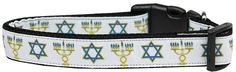 Jewish Traditions Nylon Dog Collar is a high quality ribbon overlay on a durable nylon base. Perfect for the Hanukkah celebration! Pet Names For Boyfriend, Jewish History, Medium Dogs, Star Of David, Cat Collars, New Puppy, Dog Leash, Dog Accessories, My Animal