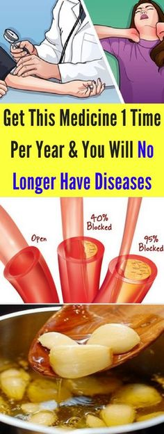 Get This Medicine 1 Time Per Year And You Will No Longer Have Diseases