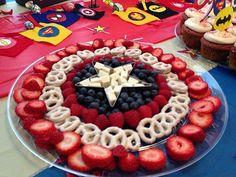 32 Ideas For Superhero Birthday Party Food Wonder Woman Wonder Woman Birthday, Wonder Woman Party, Birthday Woman, Wonder Woman Cake, Women Birthday, Avengers Birthday, Superhero Birthday Party, 6th Birthday Parties, Birthday Ideas