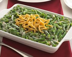 Chocked full of Vitamin-B6, Vitamin A, and Vitamin-C, green beans are a great way to help the body develop resistance against infectious agents. They also make for a fine casserole!