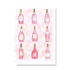 Rose Bottles Card