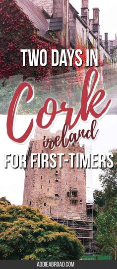 Want to visit Cork, Ireland but only have a weekend? Check out how I spent two days in Cork, Ireland as a first-timer! This is the perfect two day Cork itinerary to see the best of Ireland's County Cork in a weekend - including Cork City and Blarney Castle! via @addieabroad