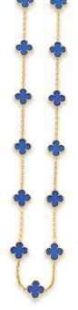 Alhambra necklace by Van Cleef and Arpels ...I'm a little obsessed with this design.  I'll get one when I'm rich.