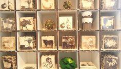 Wall Blocks Contemporary Ceramics, Ceramic Planters, Serveware, Container, Holiday Decor, Wall, Shop, Handmade, Color
