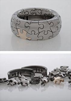 puzzle ring - pretty brilliant