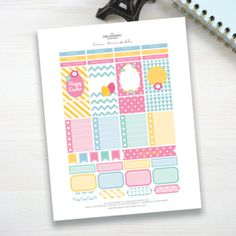 Free Printable Easter Printable Stickers