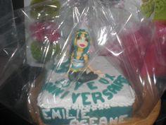 Gâteau anniversaire d'Océane et Emilie