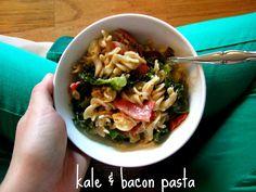 kale & bacon pasta