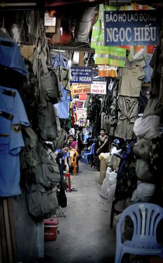 "The ""American War Market""; Saigon, Vietnam"