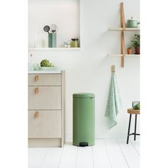 Buy Moss Green Brabantia Luxury newIcon Pedal Bin, from our Kitchen Bins range at John Lewis & Partners. Garbage Can Storage, Composting At Home, Kitchen Trash Cans, Kitchen Pantry Cabinets, Bathroom Bin, Layout, Trash Bins, Hanging Storage, Interior Stylist