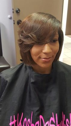 Cut and style all natural by Kesha Allen at Lake Shallen Hair Salon