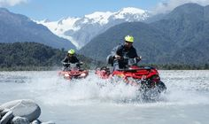Where can you do quad bike tours in New Zealand? Find out in this list of the best places to quad bike in New Zealand! Atv Quad, Quad Bike, Road Trip New Zealand, New Zealand Travel Guide, Bike Experience, Franz Josef Glacier, Travel Book Layout, Australia Tours, Road Trip Adventure