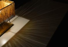 COS KYOTO×田村屋×三浦照明×everedge Part2:伝統産業から、文化ビジネスへ 西陣織・引箔のランプシェード「十六夜」。
