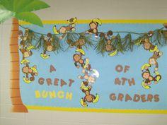 Monkey Classroom Ideas | ... classroom decorating ideas back to school bulletin boards classroom