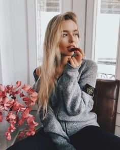 Garra, Stone Island Sweatshirt, Winter Outfits, Casual Outfits, Casual Clothes, Sergio Tacchini, Italian Outfits, Football Girls, Mein Style
