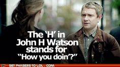Watson's Pickup Lines