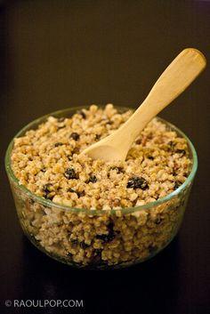 Raw Vegan, Vegan Desserts, Healthy Drinks, Crackers, Cereal, Oatmeal, Good Food, Snacks, Eat