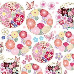 Japanese Artwork, Japanese Prints, Japanese Design, Oriental Print, Oriental Pattern, Chinese Patterns, Japanese Patterns, Japanese Textiles, Japanese Fabric