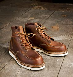 Red Wing boots - handcrafted in Minnesota