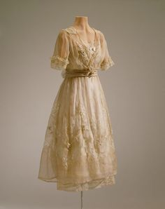 fripperiesandfobs: Lucile Ltd. afternoon dress, 1919-20