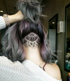 Undercut Tattoos Are the Sneakiest Way to Add Flair to Your Hair