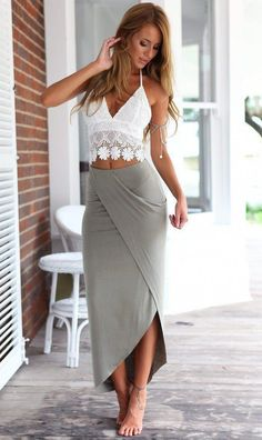 4ba924bd845 Women's two piece for summer outfit that perfect for over 40, edgy, classy  and