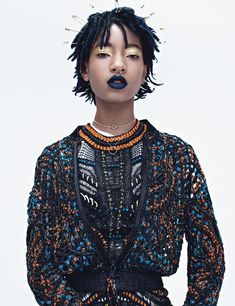 Dream Teens Zendaya, Willow Smith, and Kiernan Shipka Mouth Off - Willow Smith-Wmag