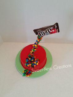 M&M Cake 3d Sweet-Ness Creations