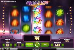 Starburst im Test (Net Ent) - Casino Bonus Test