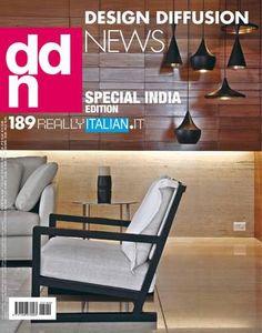 DDN 189  É la più attuale rivista internazionale di interior design, marketing e management