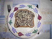 Niederländische Küche: Brot mit Hagelslag (#Schokolade)