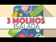 3 Molhos fáceis para salada - YouTube