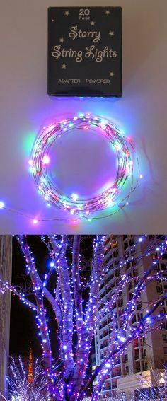 Multi Colored Starry String Lights   DIY & Crafts Tutorials