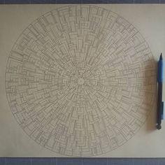 Plus grand et plus de details qu'une précédente réalisation ☺ Bonne semaine (ensoleillée ) à tous!☔************ **************************************** #Mix #mandala #mandalaart #mandalala #wip #process #paper #papercut #paperart #papercuttingart #cutfrompaper #papercraft #handcut #handdrawn #madeinfrance #dijon #madecoamoi #art #artwork #artist #instaart #instaartist #creativity #design #wallart #walldecor #inspiration #concentration